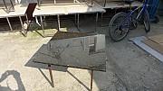 사각 600x600 탁자 데리석