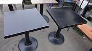 블랙사각 테이블 550