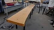 고급 원목 테이블 2000x 2 개  깊이650  가로1500x 600 =2 개