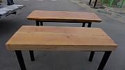 원목 테이블 1700x600 =1 / 1400x 550= 1개