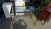 주물 유리 테이블 1개 가로1000 높이800  깊이460