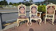 고급 이테리 의자 4개