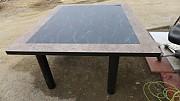 투톤 (대리석무늬) 테이블 1800x 1500